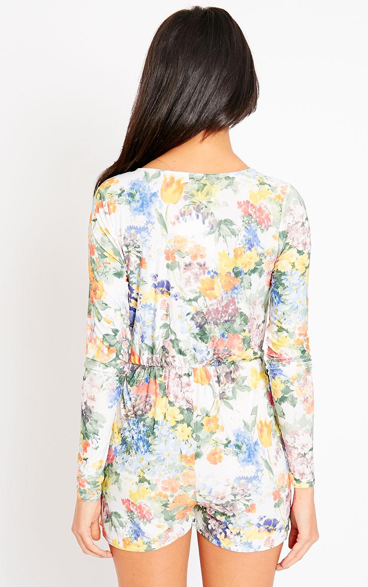 Ember Floral Print Playsuit 2
