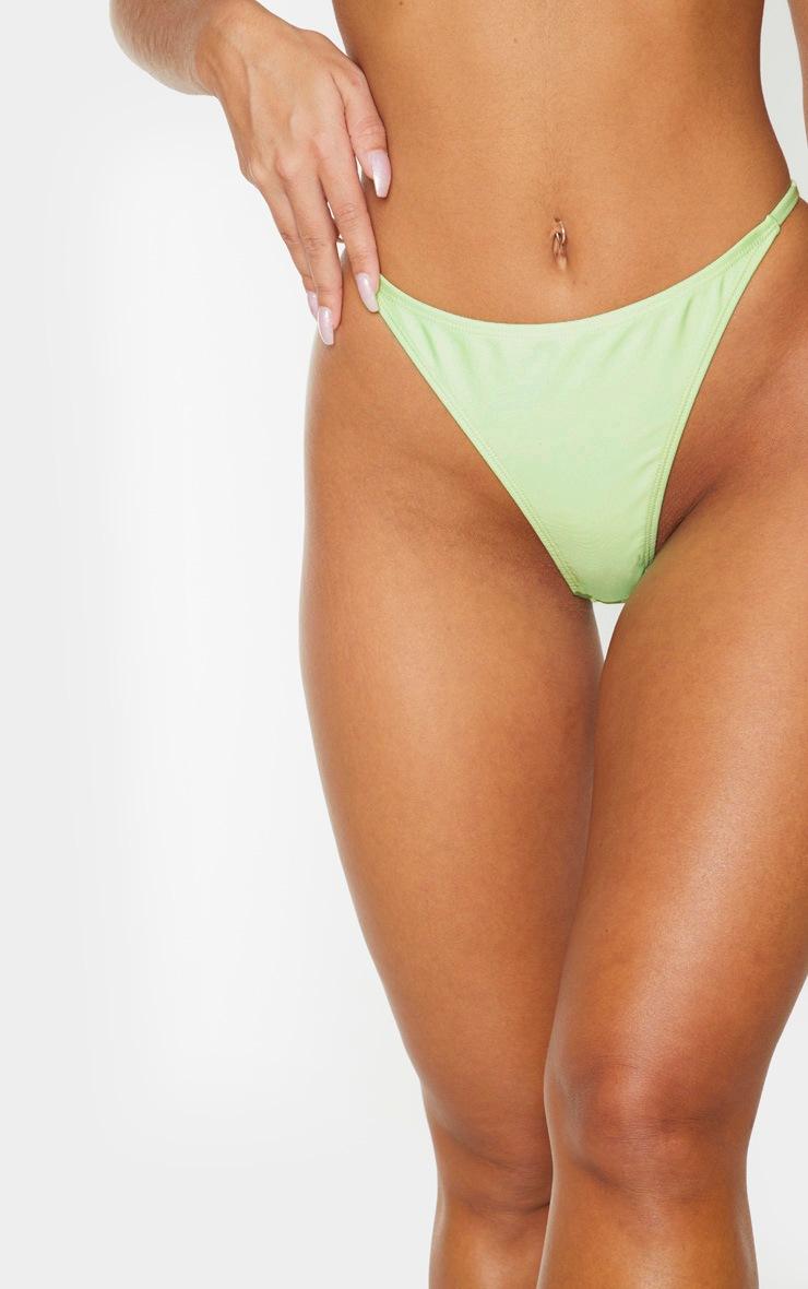 Mint Mix & Match String Thong Bikini Bottom 5