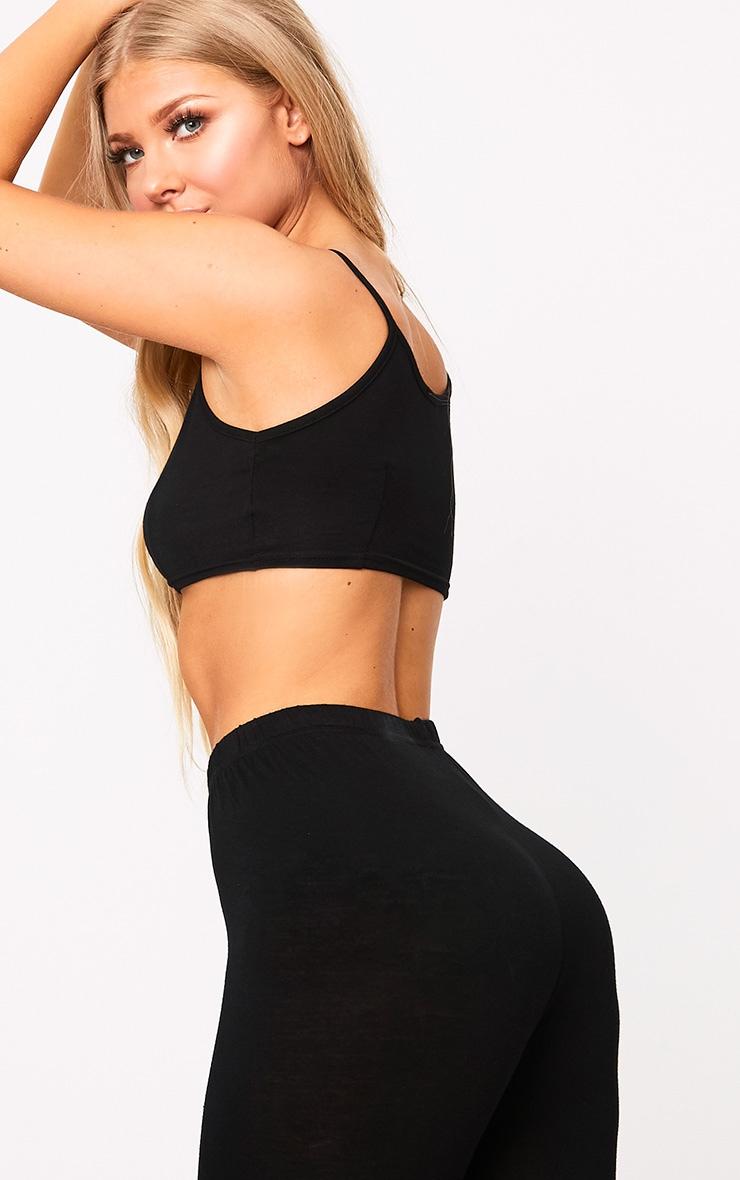 Black Shapewear Padded Control Pants 2
