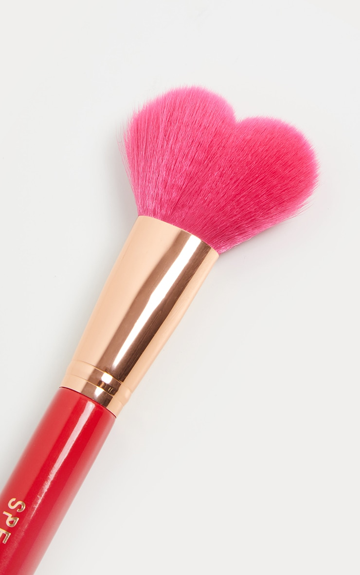 Spectrum A25 Red Heart Shaped Brush 2