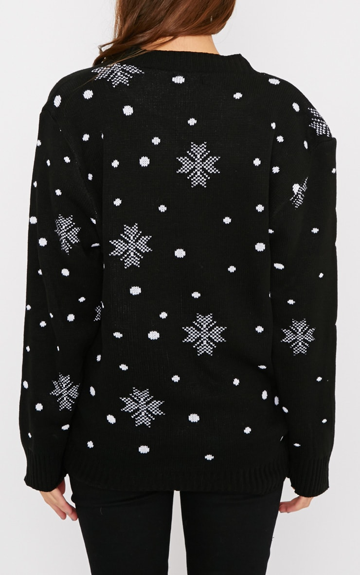 Lexie Black  Rudoloph Christmas Jumper  2