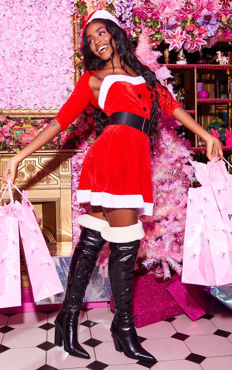 Red Sexy Premium Mrs Santa 4