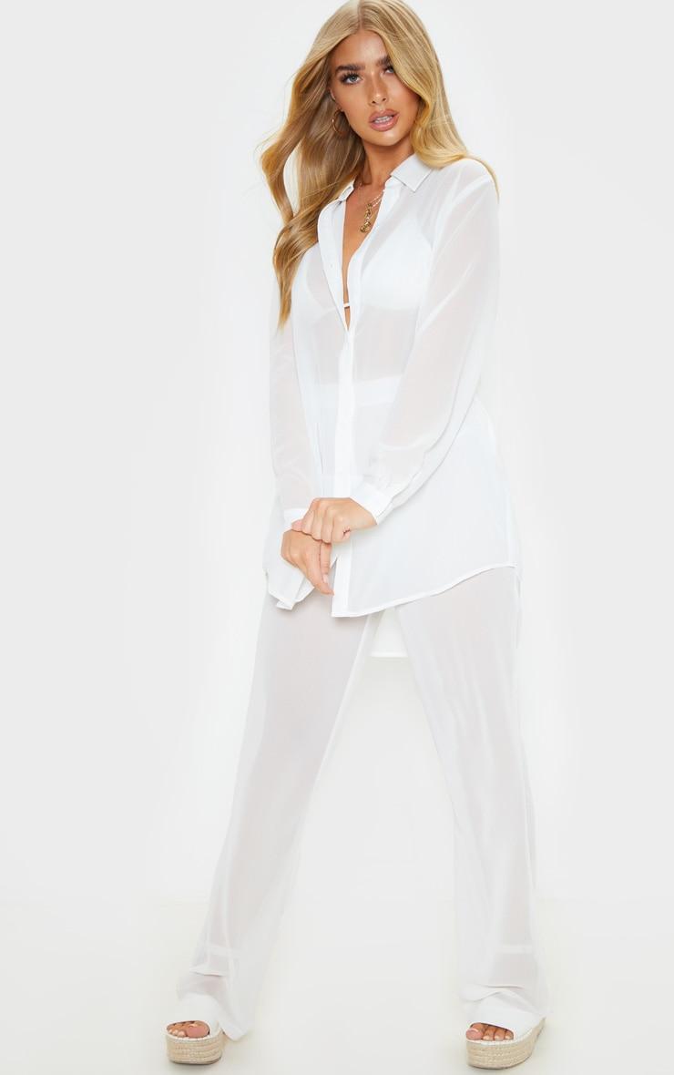 White Beach Shirt 4