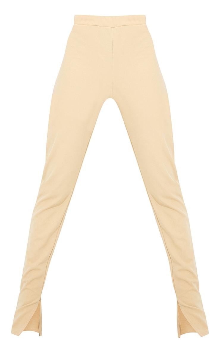 Tall Stone Back Seam Split Hem Crepe Trouser 5