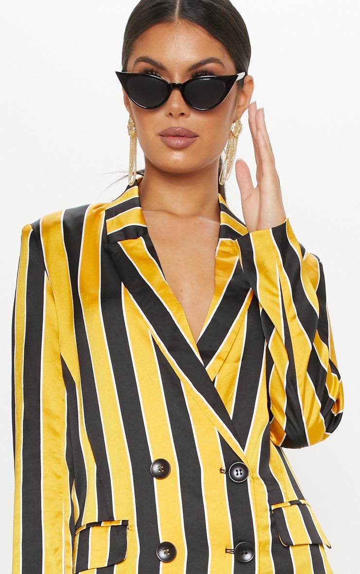 Yellow Stripe Blazer  6