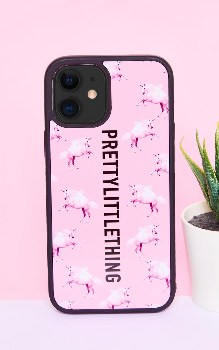 PRETTYLITTLETHING Unicorn Pink iPhone 12 Pro Max Phone Case 1