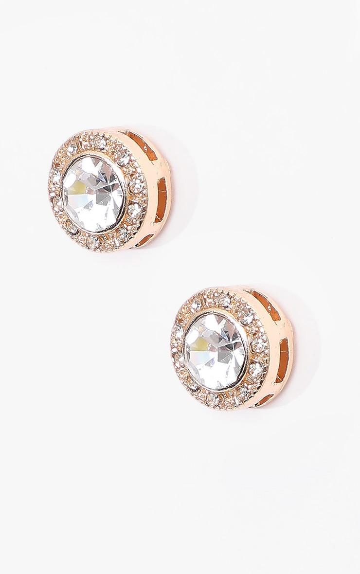 Crystal Stud Earrings 1