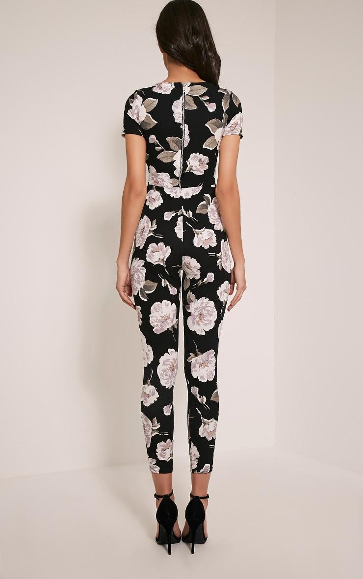 Rachael Ivory Floral Printed Jumpsuit 2