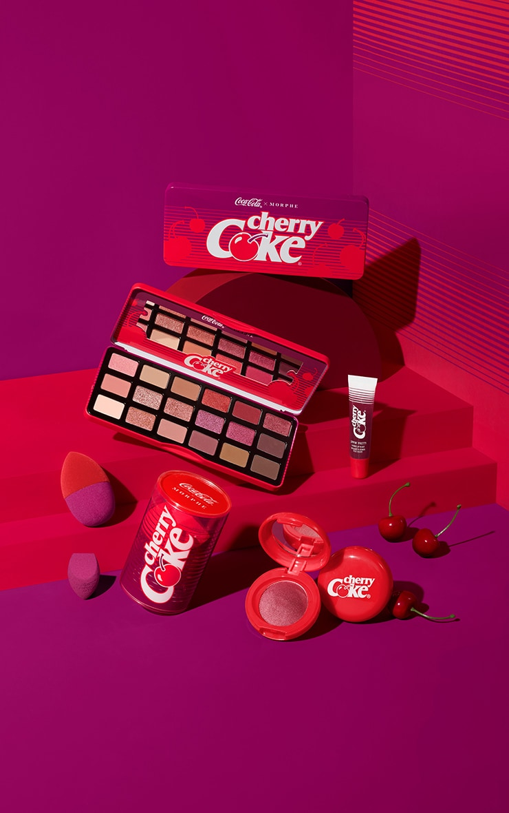 Coca-Cola X Morphe Cherry Coke Artistry Palette 3
