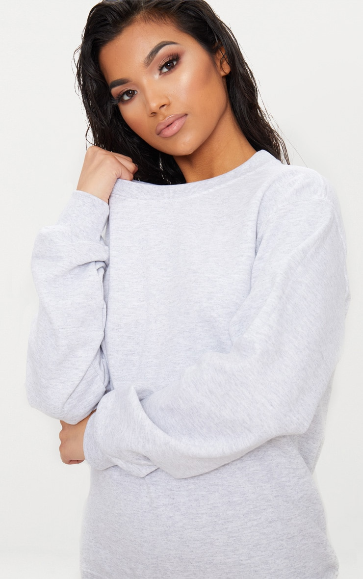 Light Grey Ultimate Oversized Sweater 5
