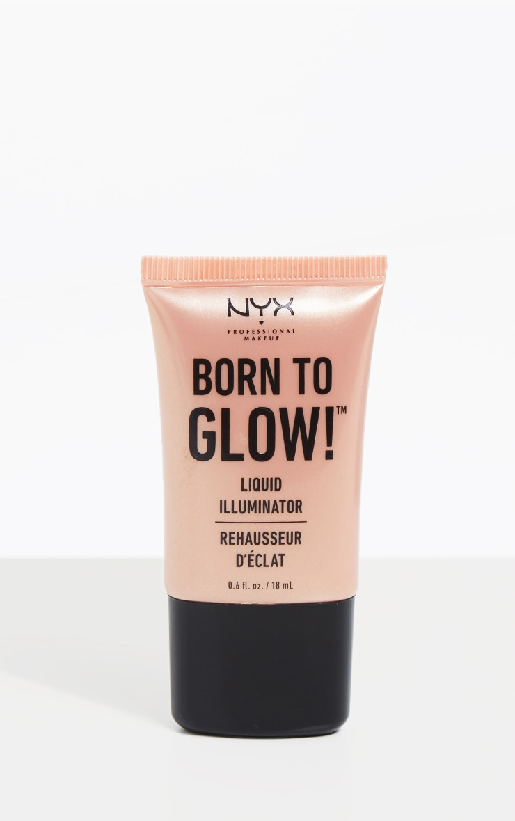 NYX Professional Makeup Born To Glow Liquid Illuminator Sunbeam 1