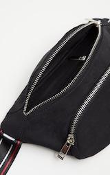 Black Pretty Little Logo Tape Bum Bag 4