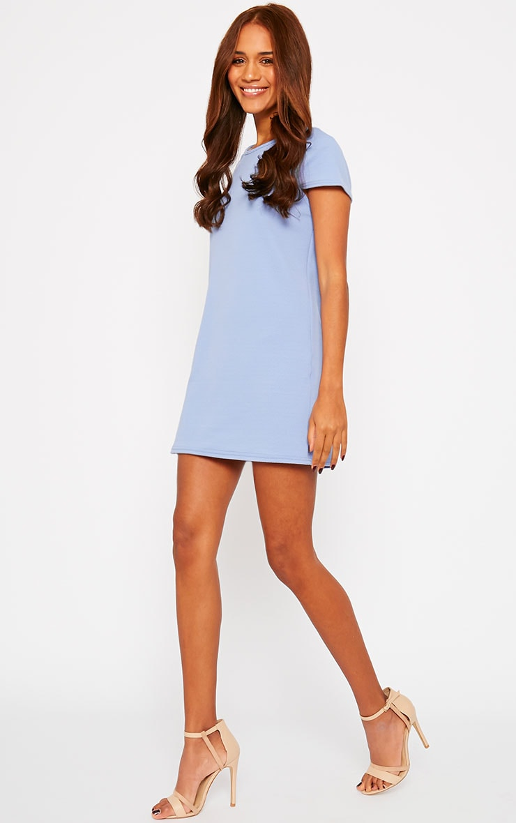 Camila Blue Loose Fit Shift Dress 3