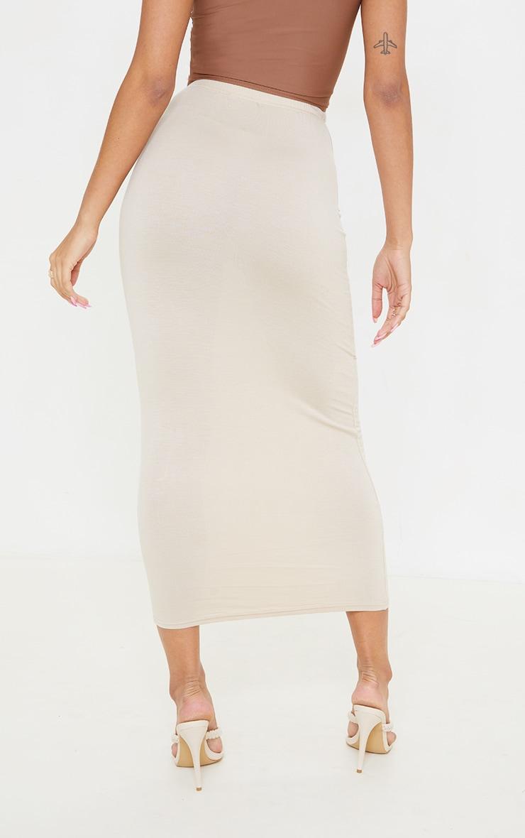 Stone Exposed Seam Midaxi Skirt 3