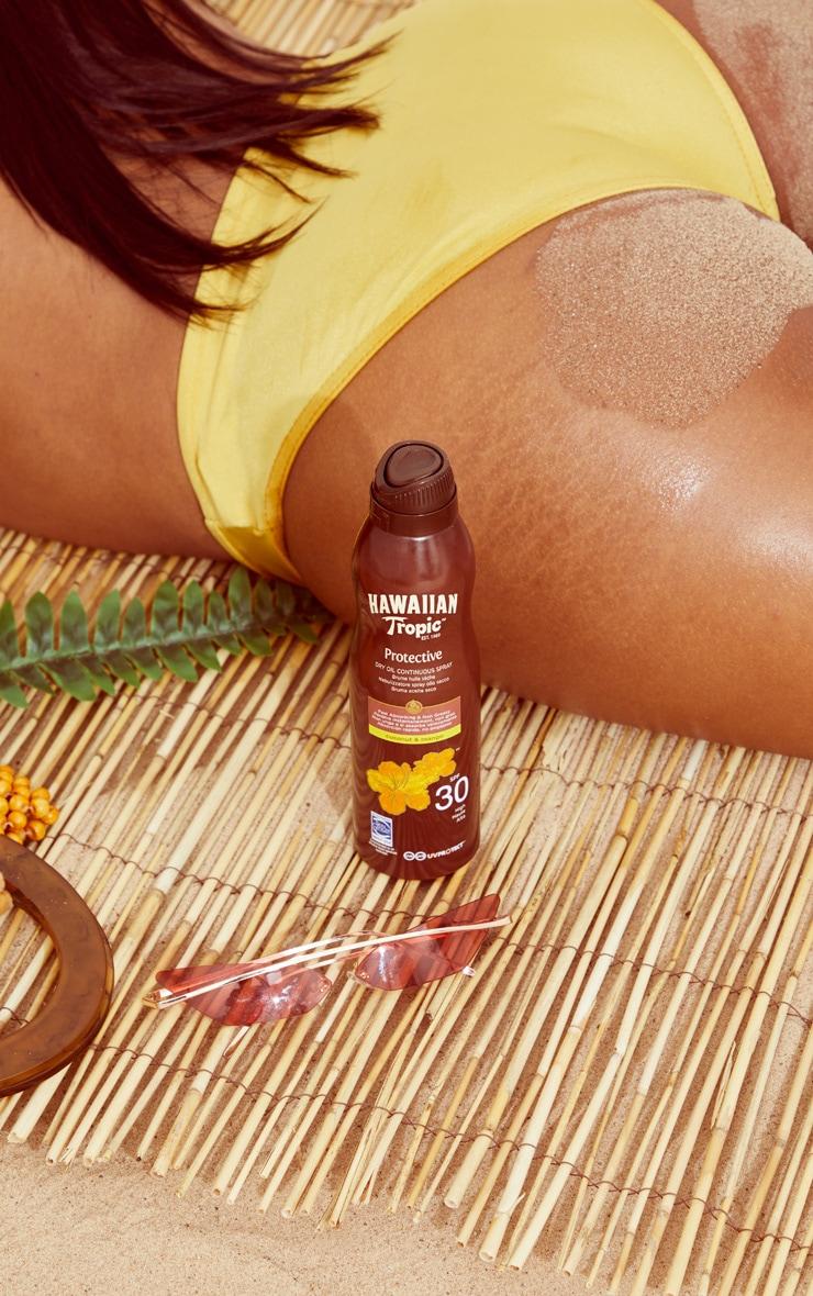 Hawaiian Tropic Protective Dry Oil Continuous Spray Oil SPF 30 1