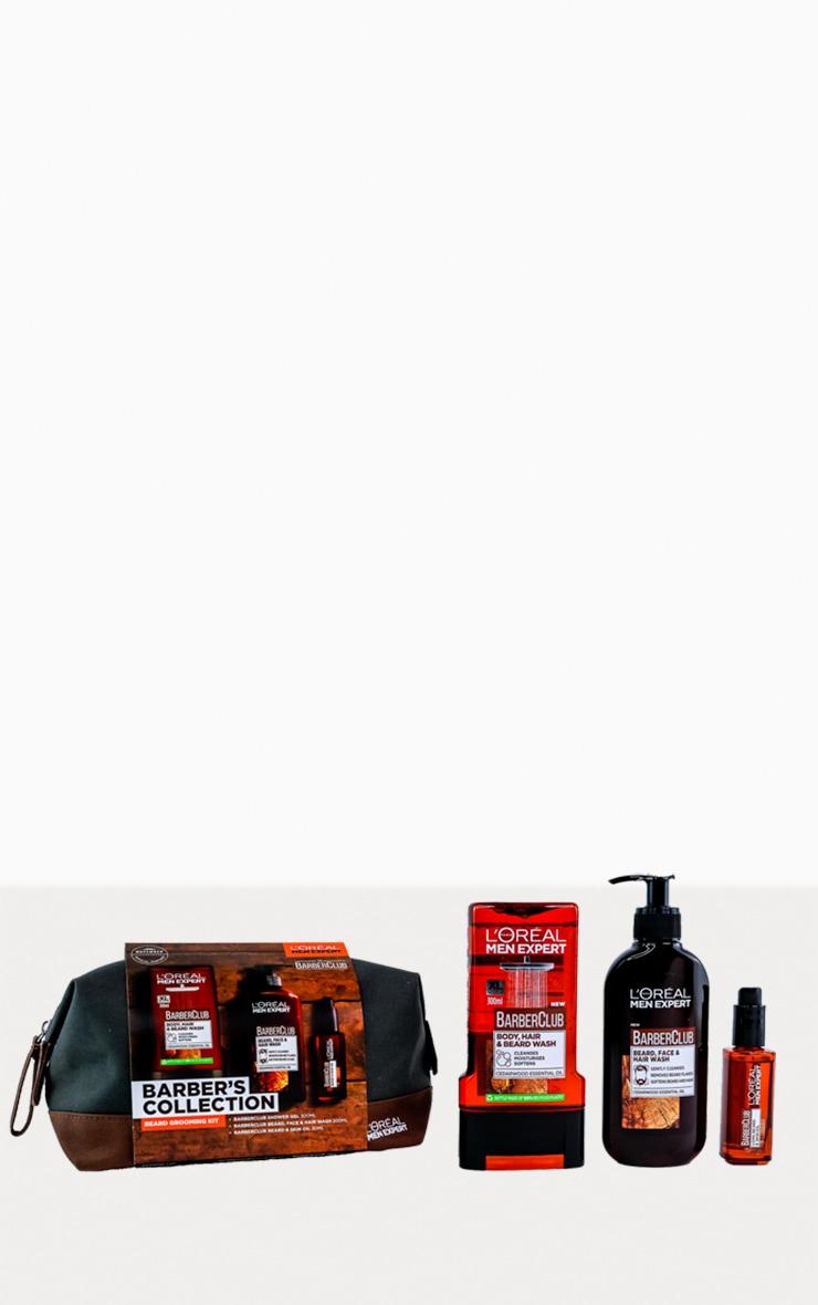 L'Oreal Paris Men Expert Barber's Beard Grooming Kit 3 piece Gift Set 3