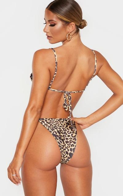 Leopard Mix & Match Itsy Bitsy Bikini Top