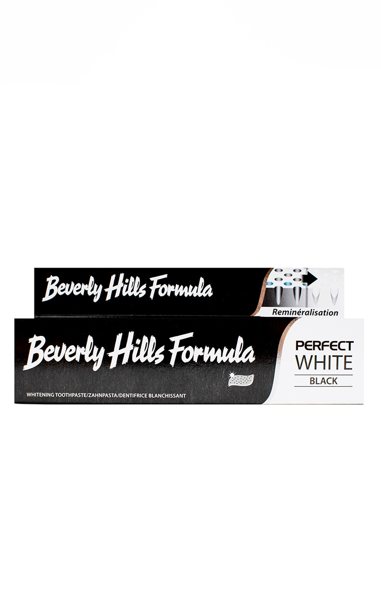Beverly Hills Formula Perfect White Black Toothpaste 125ml 4