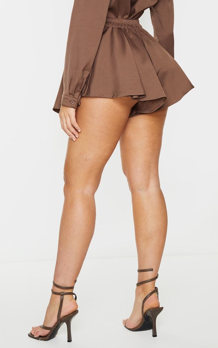 Mocha Floaty Shorts 3