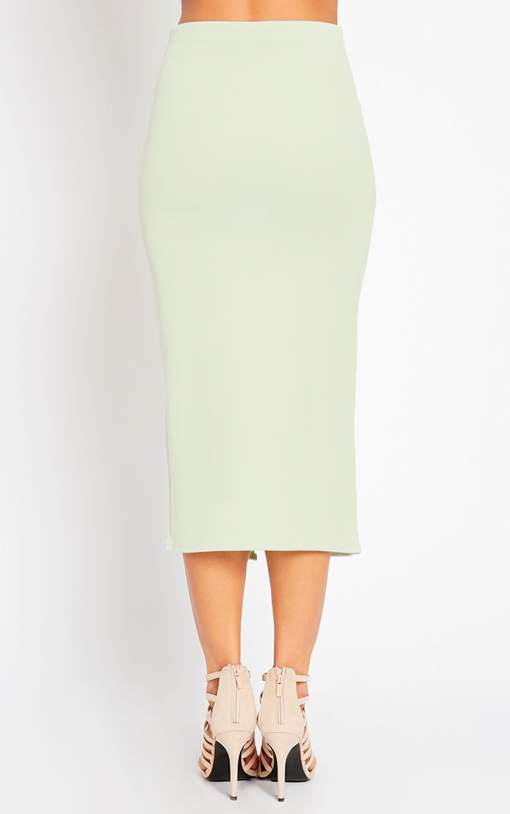 Kaja Mint Scuba Split Skirt 5