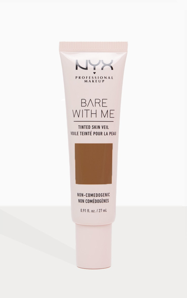 NYX Professional Makeup Bare With Me Tinted Skin Veil Deep Mocha 1