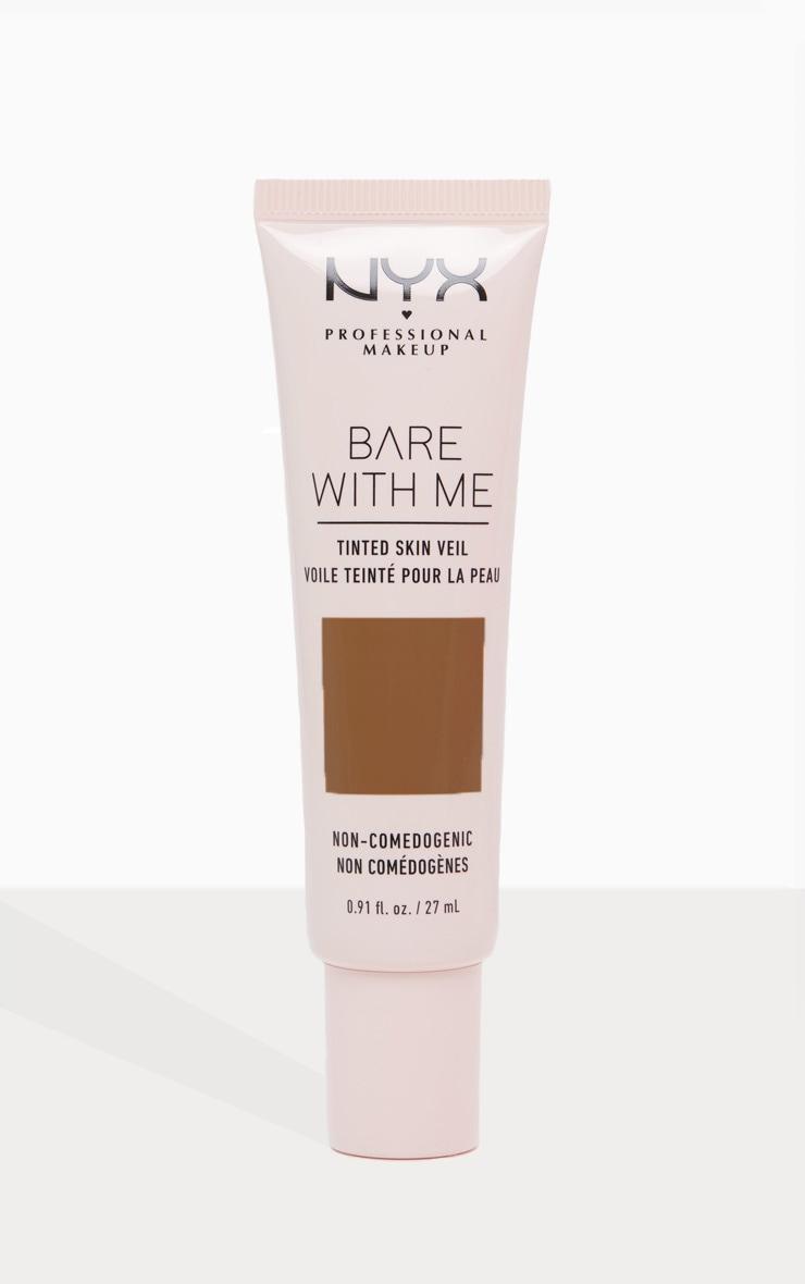 NYX Professional Makeup Bare With Me Tinted Skin Veil Deep Mocha 1