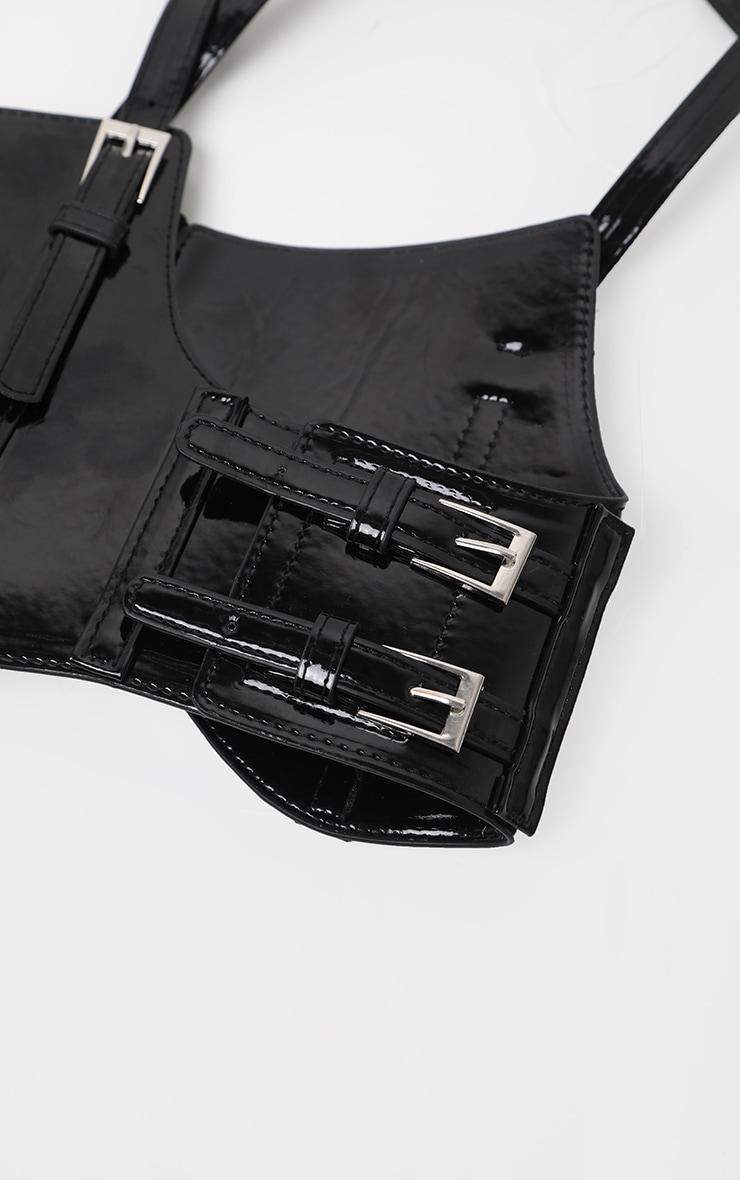 Black PU Corset 2