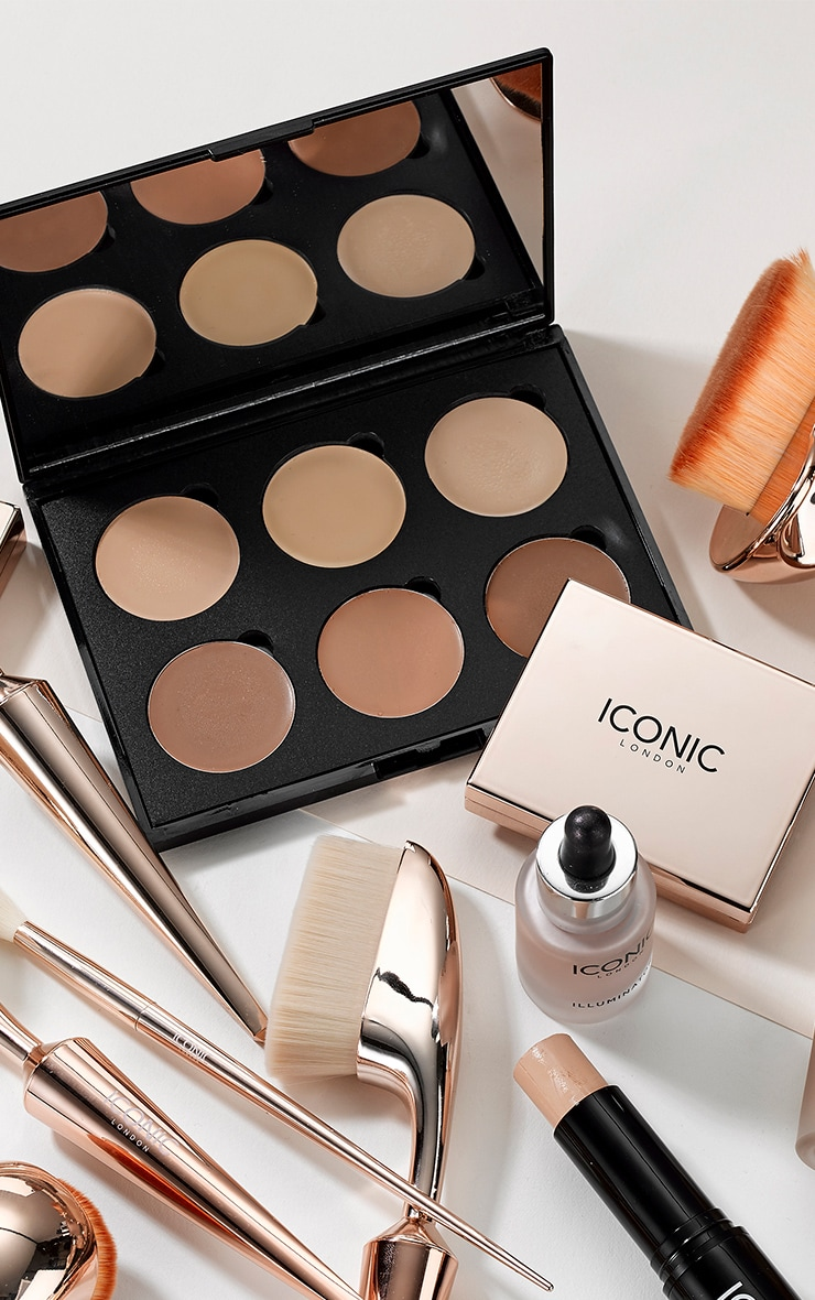 Iconic London Multi Use Cream Contour Palette 1