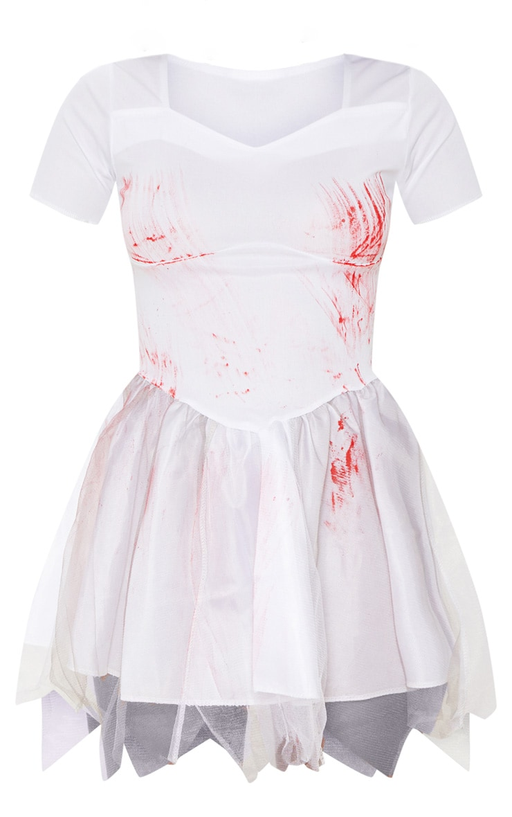 Bloody Bride Costume Fancy Dress Outfit 3