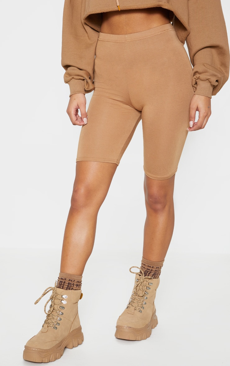 Basic Camel Cycle Shorts 2