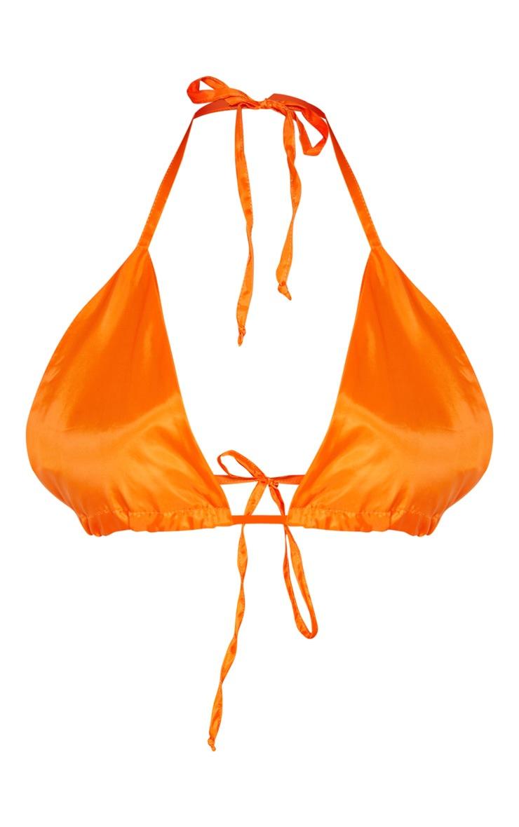 Orange Triangle Shell Bralet 4