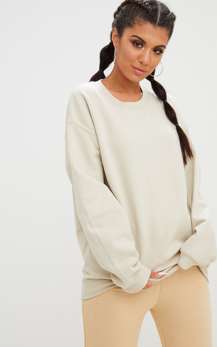Sand Ultimate Oversized Sweater 1