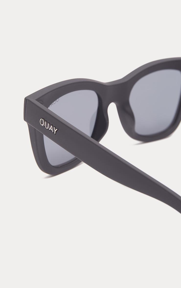 QUAY AUSTRALIA Black After Hours Oversized Sunglasses 4