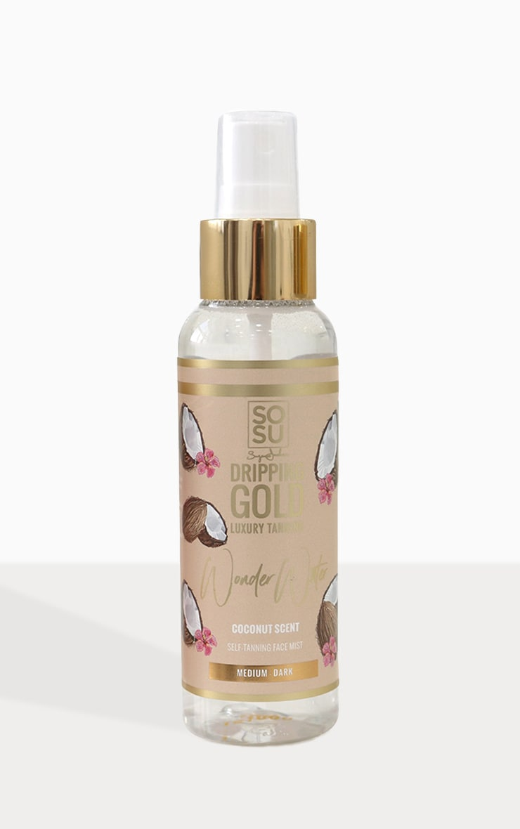 SOSUBYSJ Dripping Gold Medium Dark Tanning Wonder Water Coconut 1