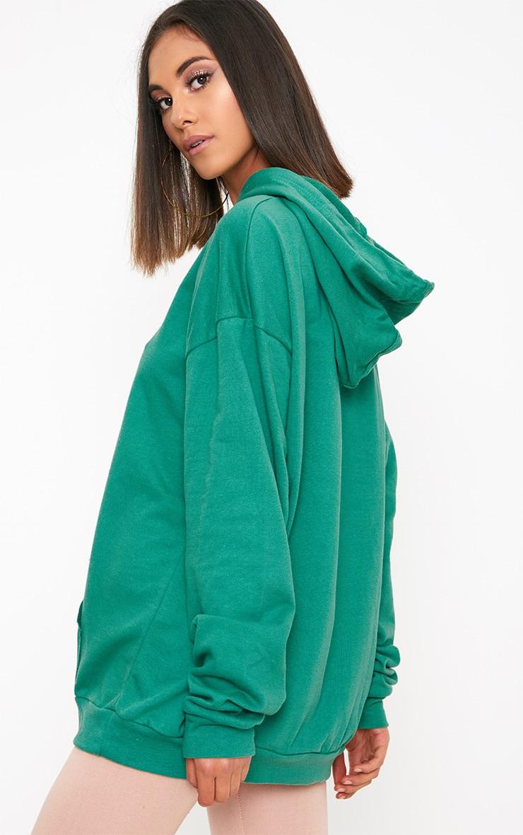 Steph Green Oversized Hoodie 2