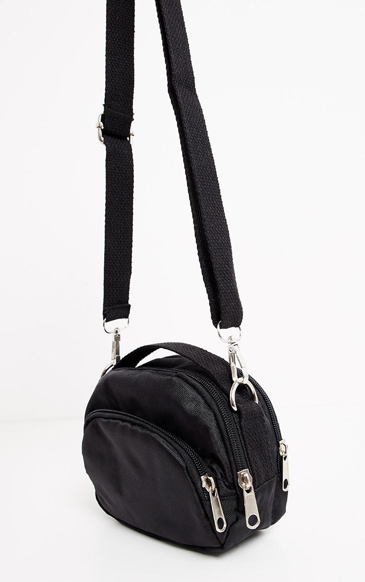 Black Nylon Mini Bag 3