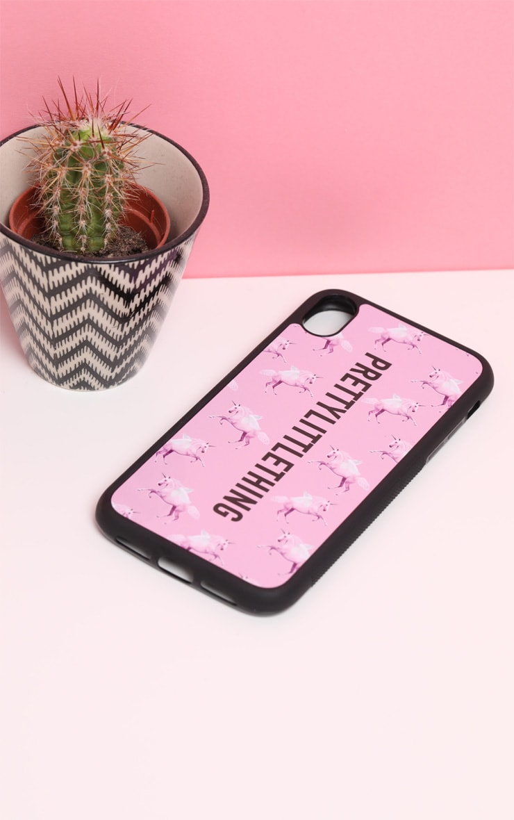 PRETTYLITTLETHING Unicorn Pink XR iPhone Case 3