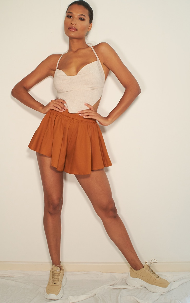 Taupe Floaty Short 4