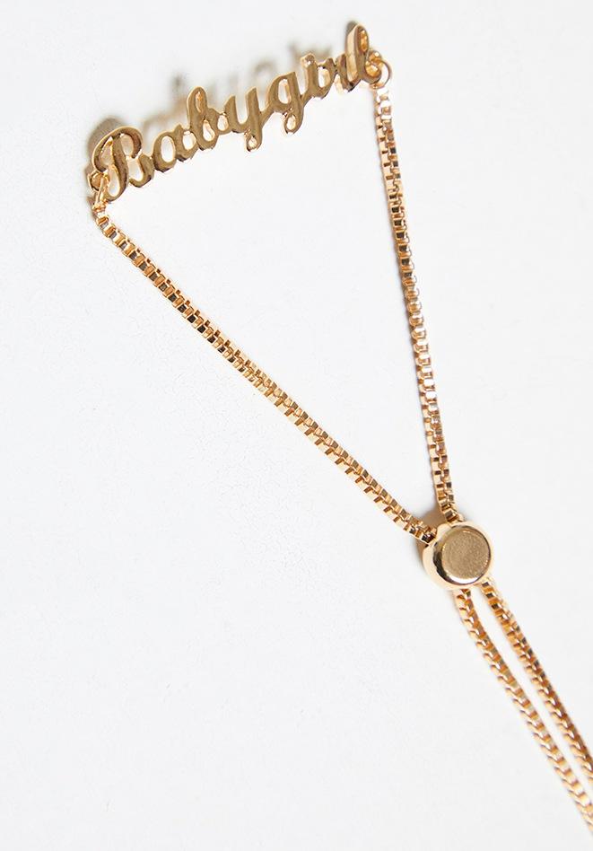 Gold Babygirl Bracelet 3