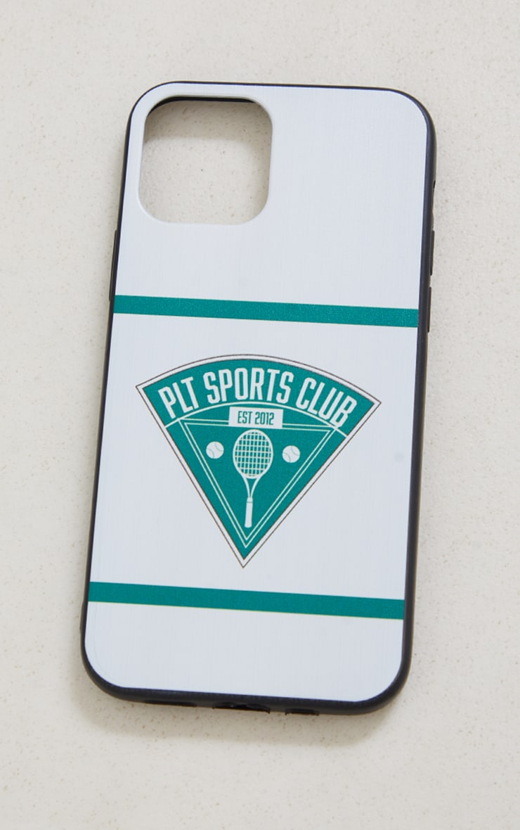 PRETTYLITTLETHING White Tennis Club Iphone 12/12 Pro Case 3