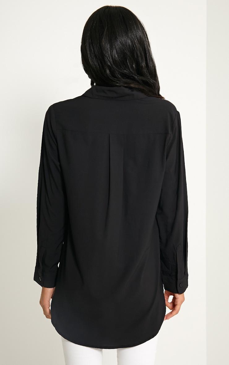 Dune Black Pocket Detail Shirt 2