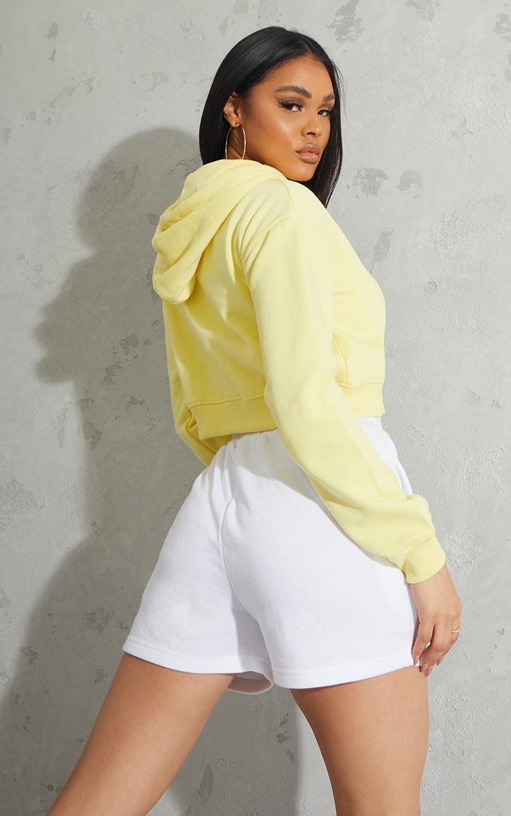 Lemon Crop Zip Hoodie 2