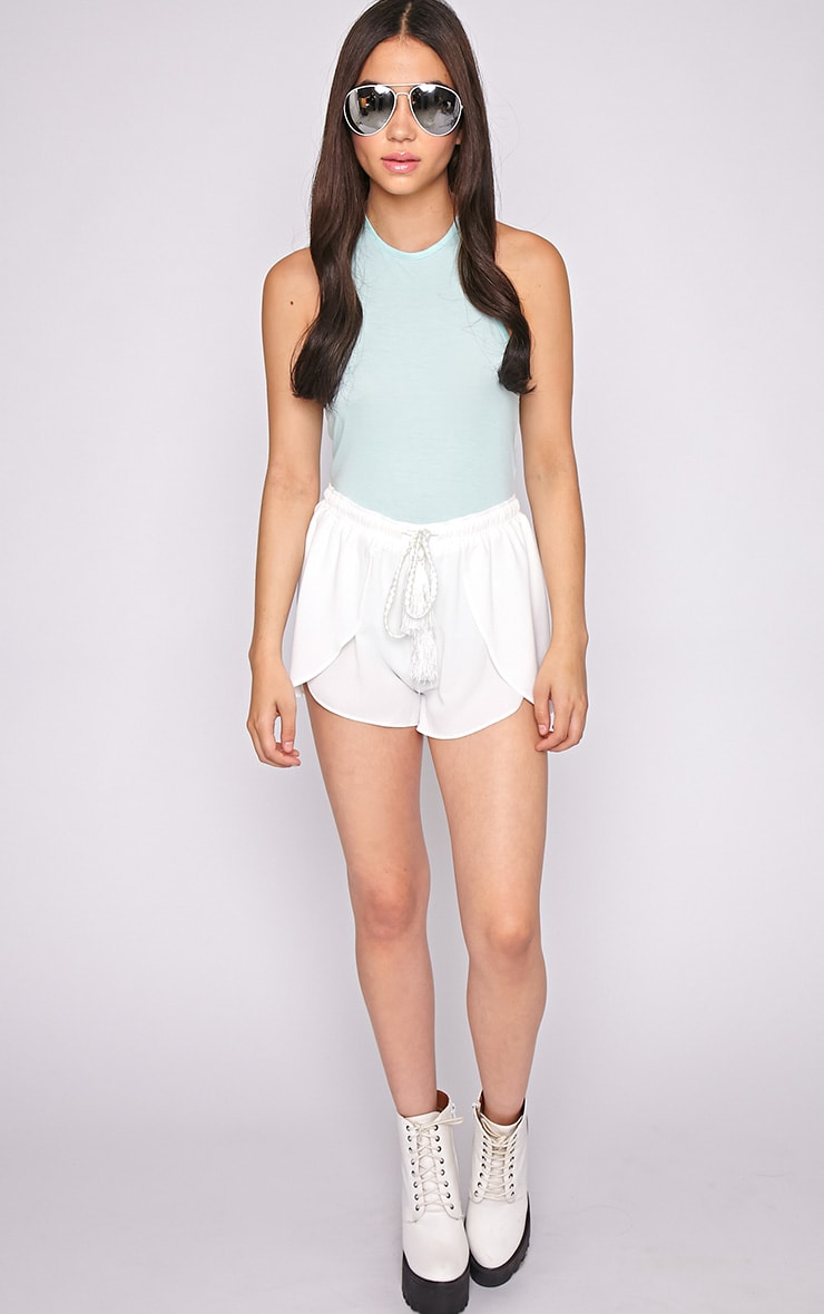 Basic Mint Halterneck Bodysuit 3