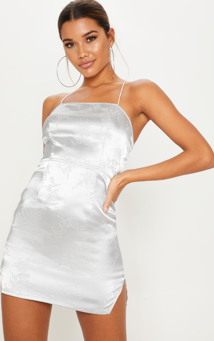 Silver Party Dresses