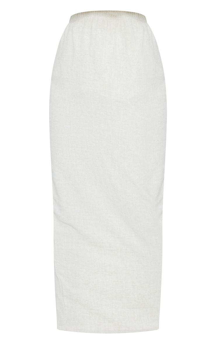 Stone Woven Midi Skirt 5