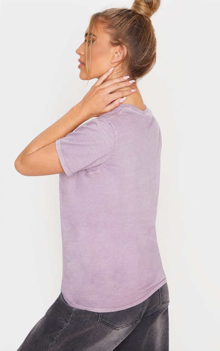 Dusty Lilac World Tour 87 Slogan T Shirt 2