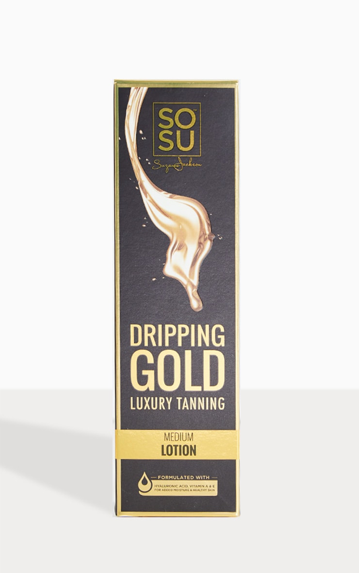 SOSU Dripping Gold Luxury Medium Tan Lotion 2
