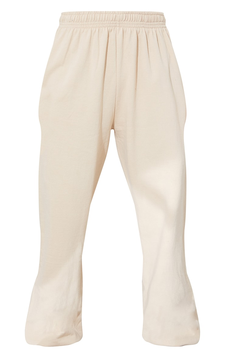 PRETTYLITTLETHING Taupe Branded Apparel Joggers 5