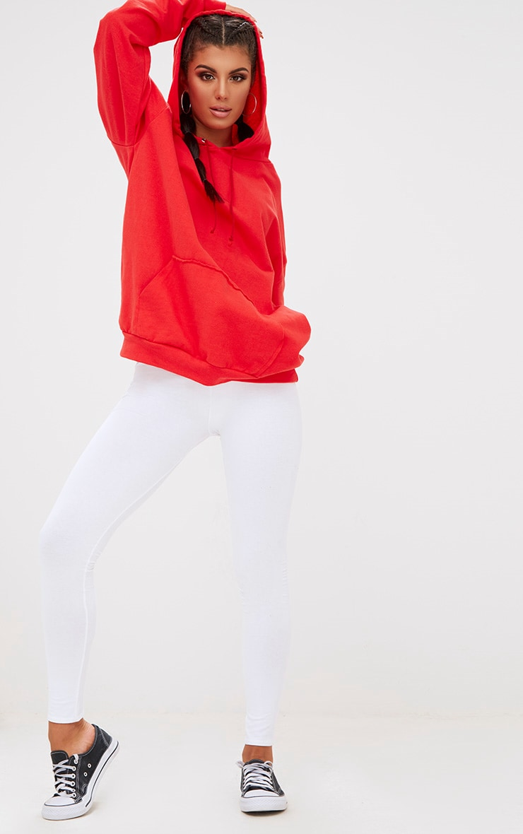 Red Oversized Hoodie 4