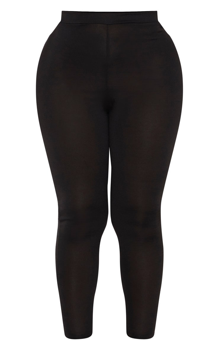 Shape Black Jersey Leggings 3